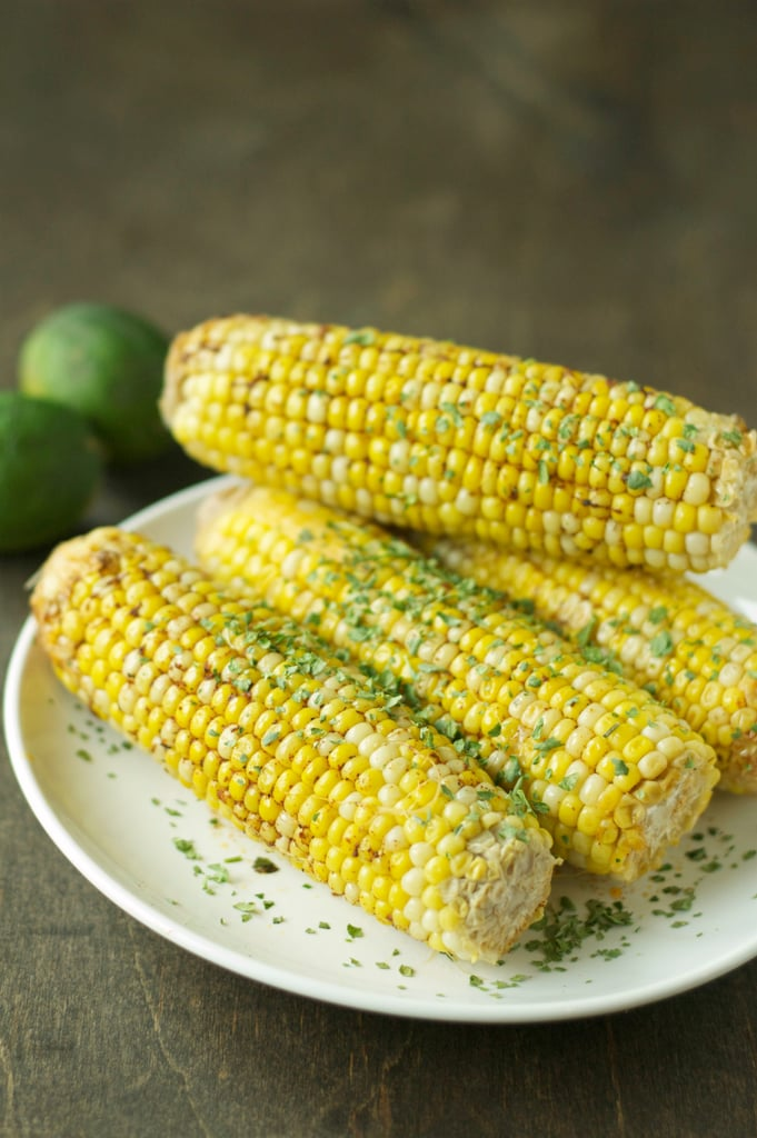 Slow-Cooker Corn on the Cob With Spicy Lime Butter
