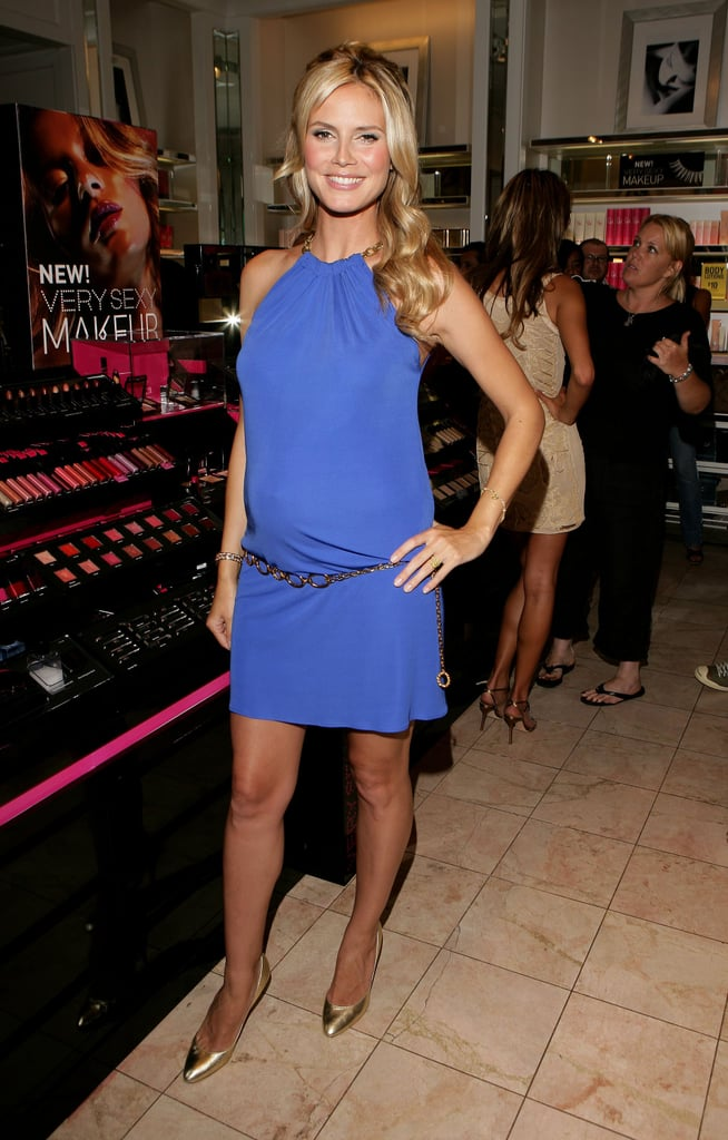 Heidi Klum: Launches Victoria's Secret Very Sexy Makeup 2006
