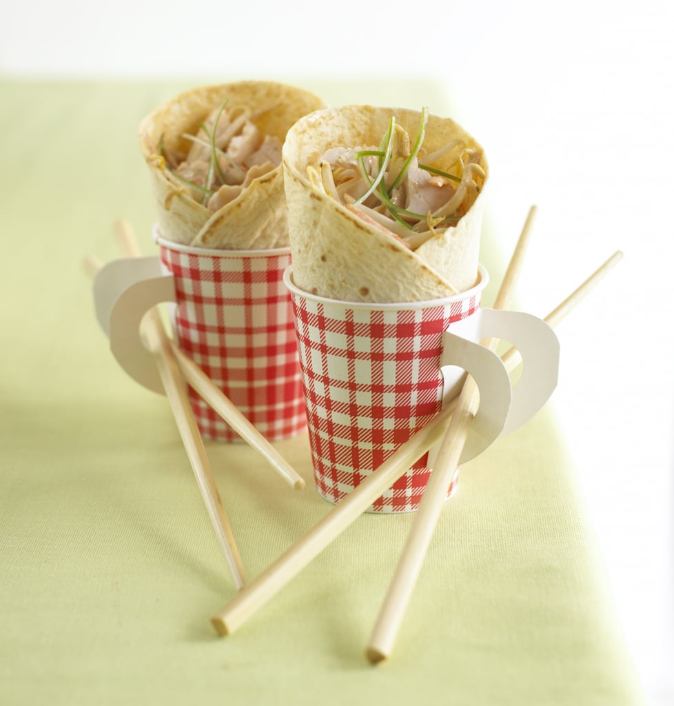 Chinese Chicken Wrap