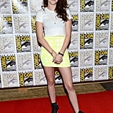 Kristen Stewart went to Comic-Con.
