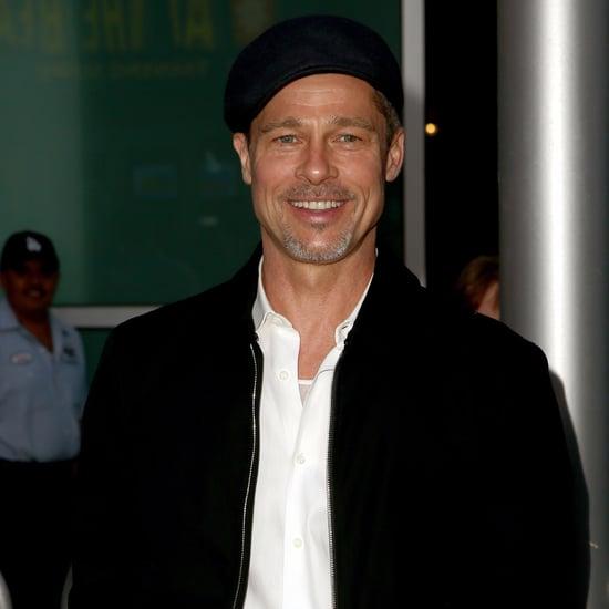 Brad Pitt at The Lost City of Z Premiere in LA