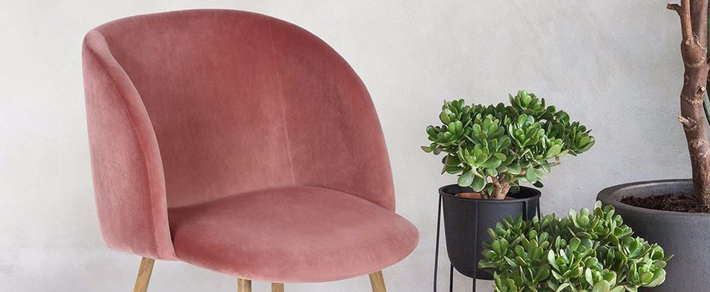 The Under-$100 Velvet Chair Set That's Going Absolutely Freaking Viral
