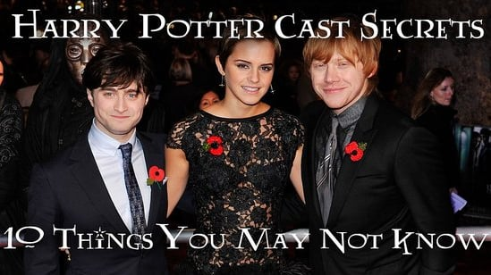 Harry Potter Cast Secrets