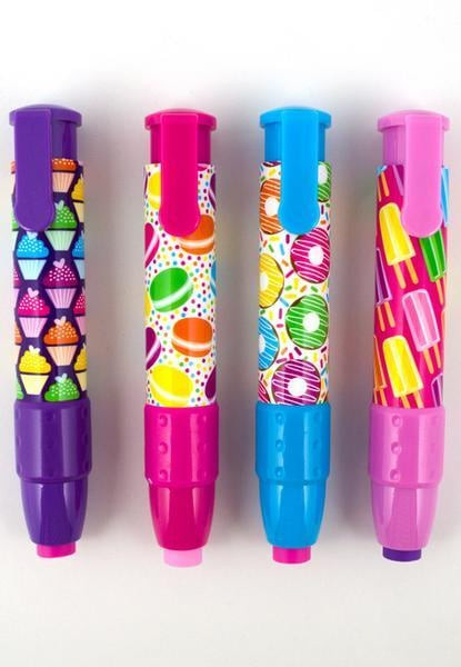 Sweet Things ClickIt Erasers