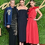 Pink, Stella McCartney, and Annabelle Wallis