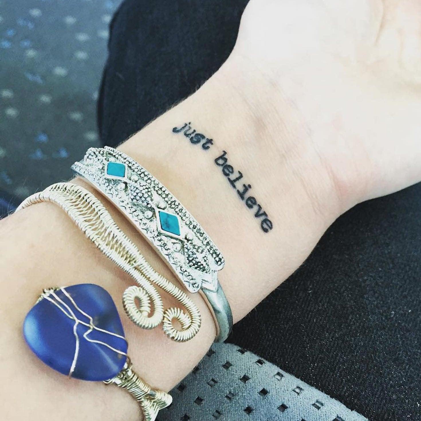 ad2efad2c5905 Small Inspirational Tattoos. 34 Tiny Inspirational Tattoos That Will  Motivate You to Live BIG
