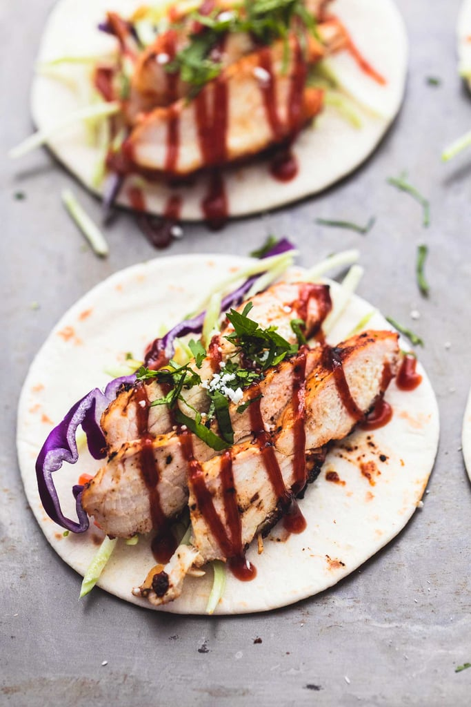 Mini Grilled BBQ Chicken Tacos