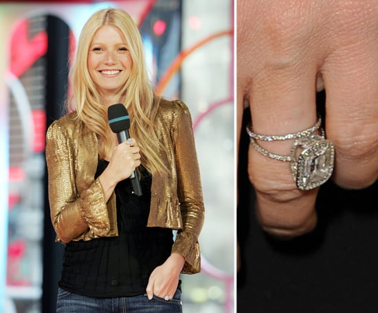 Gwyneth Paltrow Celebrity Engagement Ring Pictures POPSUGAR
