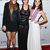 Courteney Cox joined Kate Walsh and Olivia Thirlby at the premiere of Just Before I Go