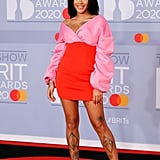 Yinka Bokinni on the 2020 BRIT Awards Red Carpet