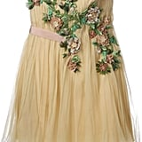 Alberta Ferretti Floral Appliqué Flared Dress ($2,630)
