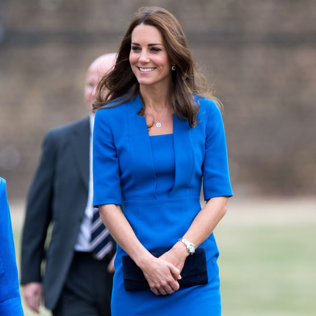 Kate Middleton's Blue Dress at the Tower of London