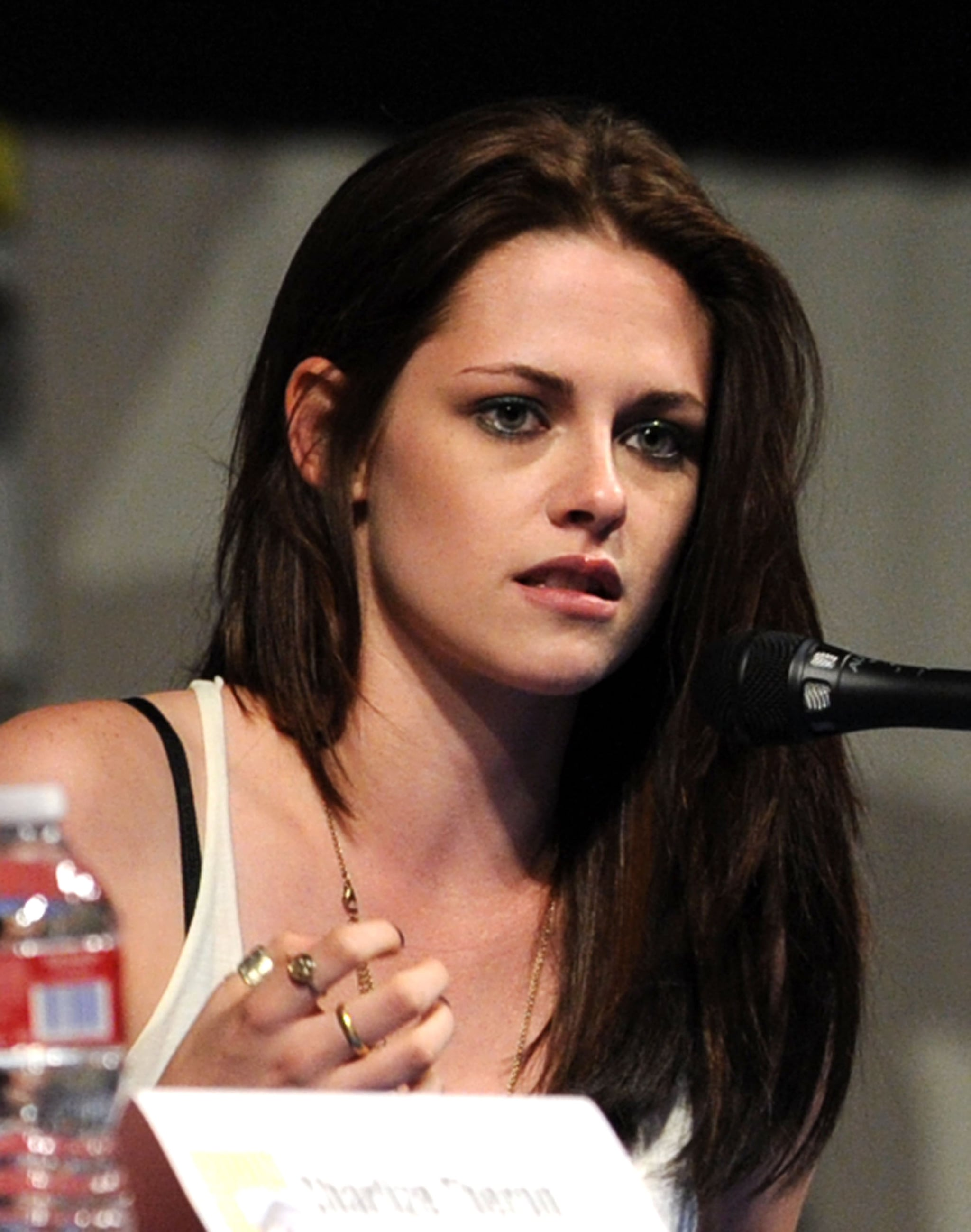 Kristen Stewart talked about her new project at Comic-Con.