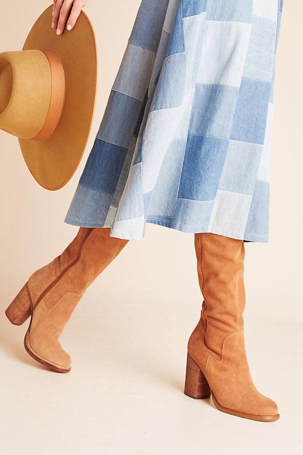 Anthropologie Kelsi Dagger Brooklyn Logan Over-the-Knee Boots