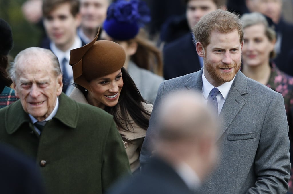 Members of the British royal family came together on Christmas morning in 2017 for a family tradition, making the walk from the queen's Sandringham Estate to the church of St Mary Magdalene for the 11 a.m. public service. All eyes were on Meghan, who was enjoying her first Christmas with the royals, and she was on fine form, wrapped up from the cold as she stayed close to Harry. Rather than staying with the queen at Sandringham House, Harry and Meghan have been guests of William and Kate at their nearby home of Anmer Hall, and no doubt spent the morning with a very excited Prince George and Princess Charlotte. The young royals definitely looked in good spirits as they made their way to the church with their parents. Later, the family sat down for a traditional Christmas dinner, before watching the queen's annual Christmas message, which is expected to include a special mention for Harry and Meghan.