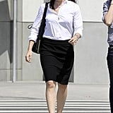 Jennifer Garner Wears Heels For a Meeting in LA