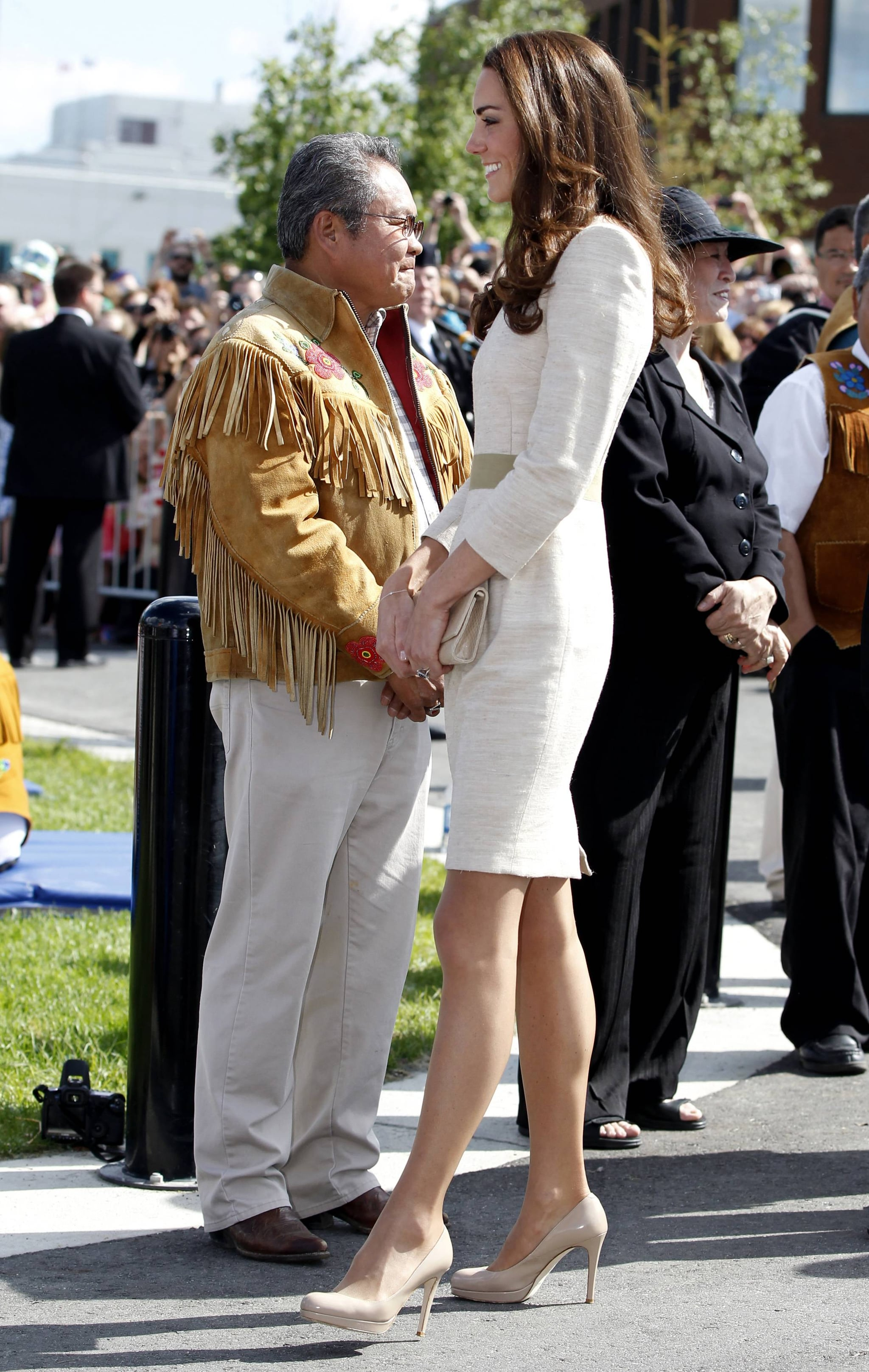 Kate Middleton and Prince William visited Yellowknife, Northern Territories.