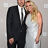 Britney Spears had a night out with fiancé Jason Trawick.