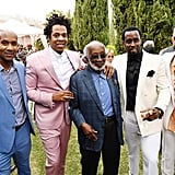 Alex Avant, JAY-Z, Clarence Avant, Diddy, and John Legend at the 2020 Roc Nation Brunch in LA