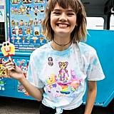 Lisa Frank x SpongeBob Girls Gumball Knotted Tee ($25)
