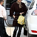 Halle Berry Celebrates Her Golden Globe Nomination Shopping With Nahla