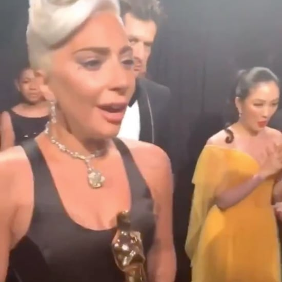Lady Gaga Needed a Drink at the 2019 Oscars Video