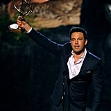 Ben Affleck made an acceptance speech.
