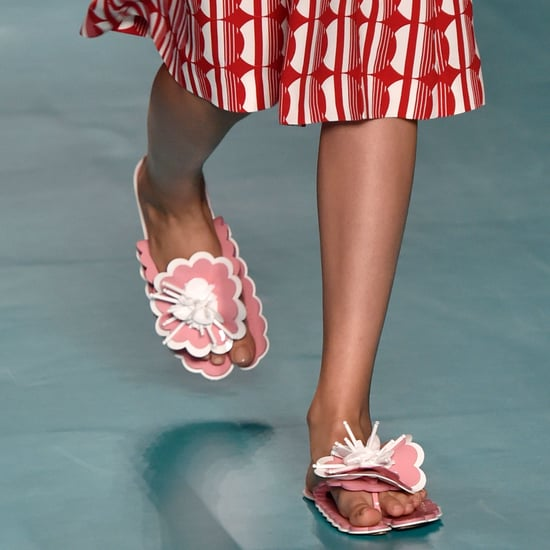 Sneakers and Flats on the Runway Spring 2017