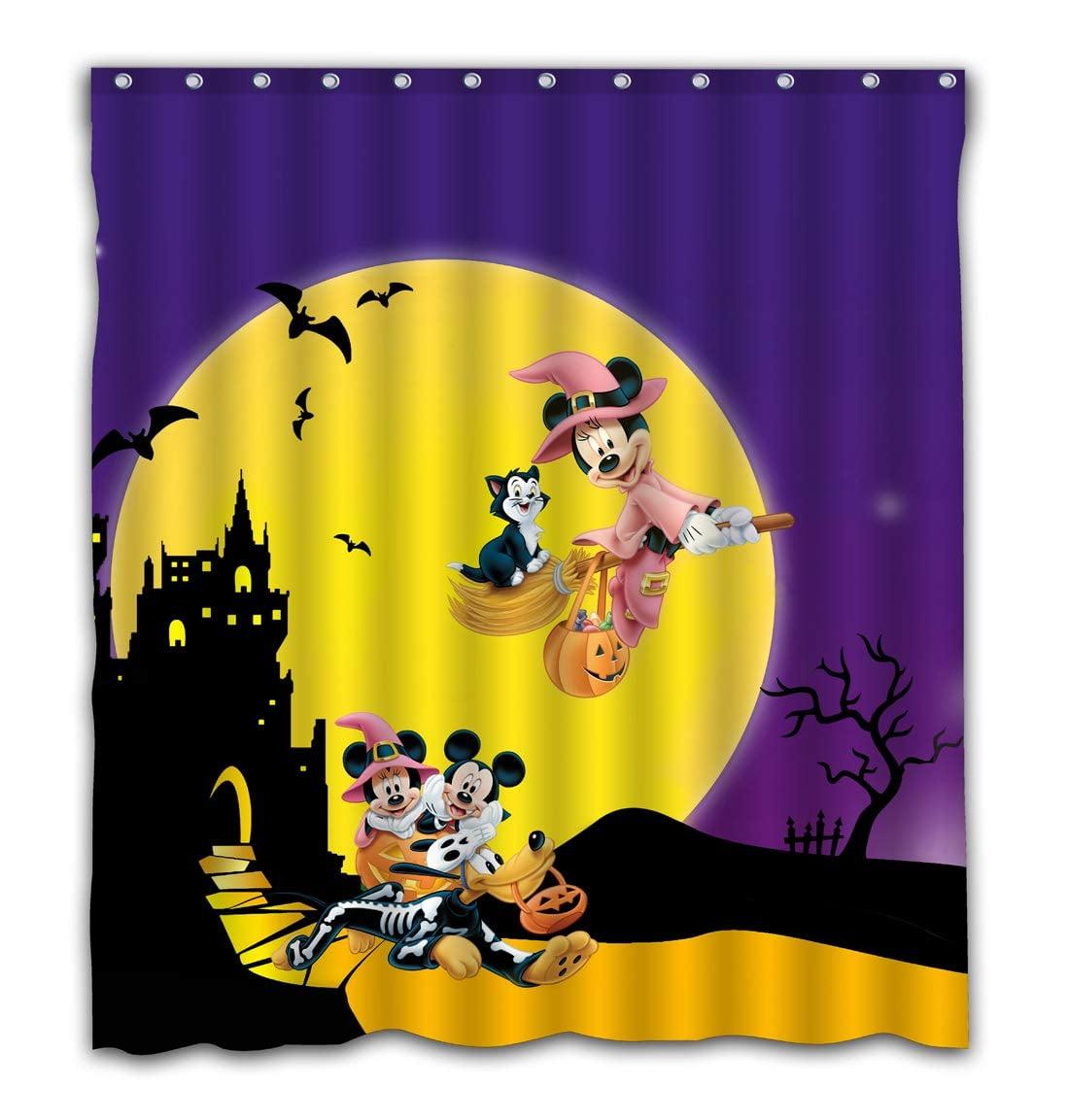 Necci Custom Happy Halloween Full Moon Night Waterproof