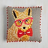 Hipster Fox Pillow