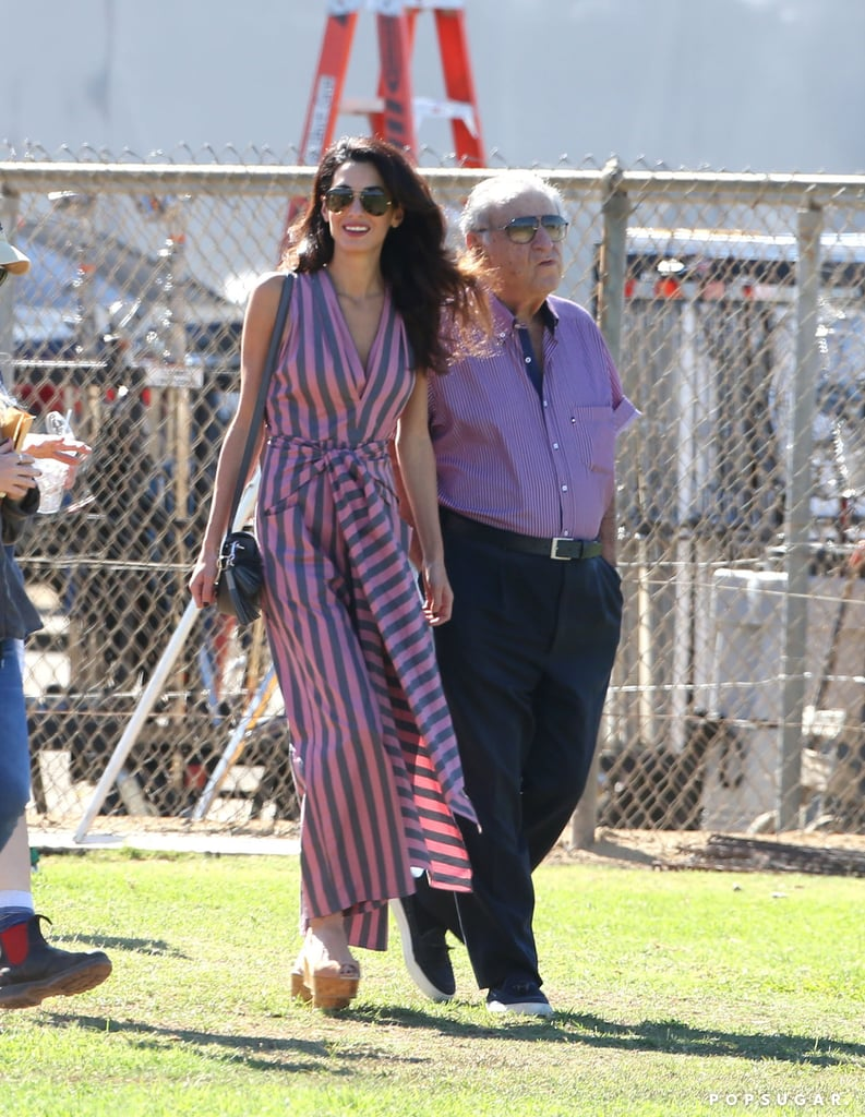Amal Clooney's Just Wearing a Standard Sundress, Until You Notice the Brilliant Twist