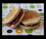 Peanut Butter and Jelly Pancake Sandwiches