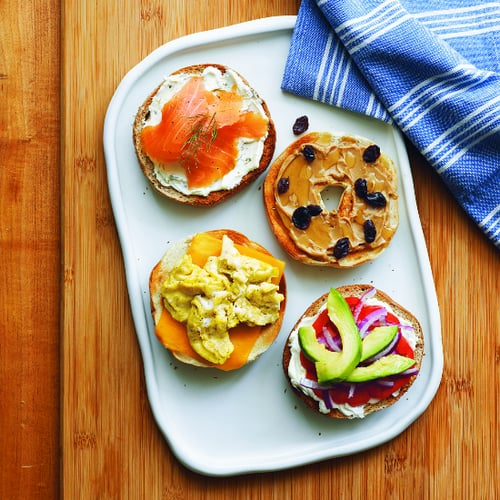 Build-Your-Own-Bagel Bar