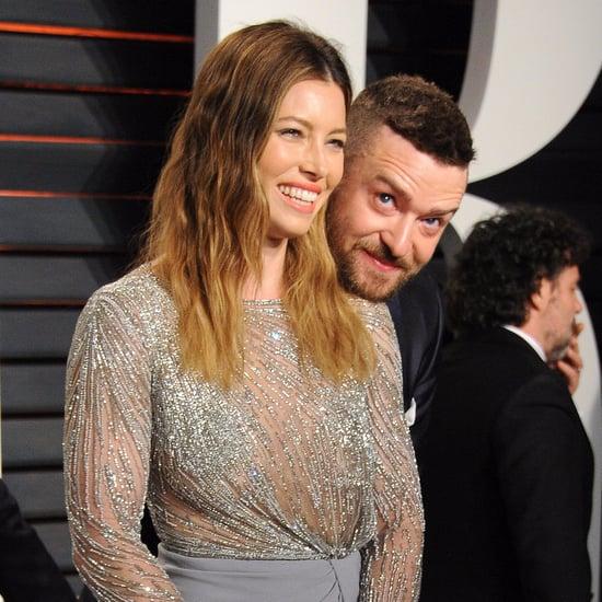 Justin Timberlake and Jessica Biel Vanity Fair Oscars 2016