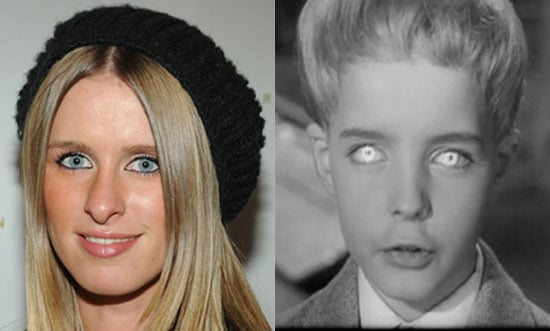 Nicky Hilton Looks Like Kid From Village of the Damned