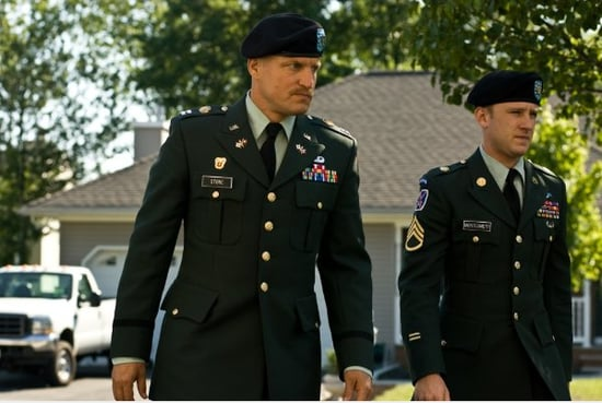 Trailer For The Messenger Starring Woody Harrelson and Ben Foster