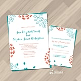 Summer Petals Wedding Invitation