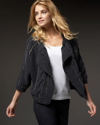 Rebecca Taylor Chainey Cable Cardigan