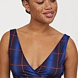 H&M x Justine Skye Short Wrap-front Top