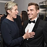 Pictured: Frances McDormand and Dave Franco