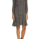 Rebecca Taylor Cheetah Print Silk Dress
