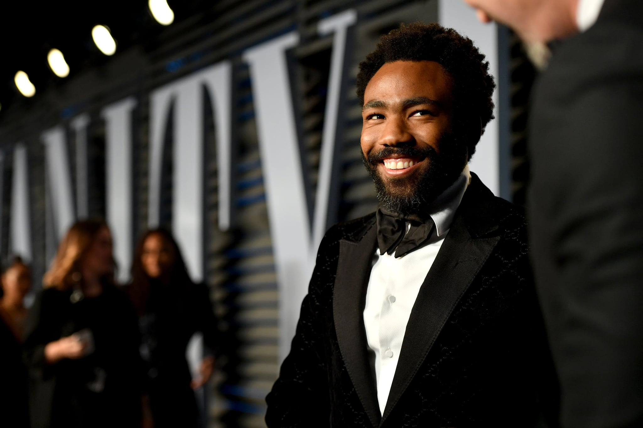 BEVERLY HILLS, CA - MARCH 04:  Donald Glover attends the 2018 Vanity Fair Oscar Party hosted by Radhika Jones at Wallis Annenberg Center for the Performing Arts on March 4, 2018 in Beverly Hills, California.  (Photo by Mike Coppola/VF18/Getty Images for VF)