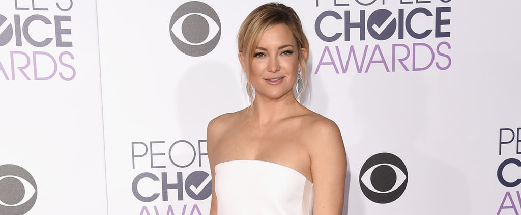 Kate Hudson Arrives Solo at the People's Choice Awards After Her Ski Trip With Nick Jonas