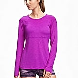 Old Navy Go-Dry Long Sleeve Performance Top For Women