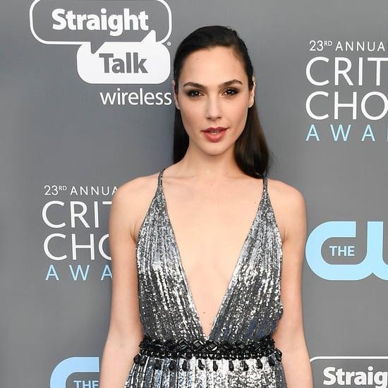 Gal Gadot's Dress at the 2018 Critics' Choice Awards