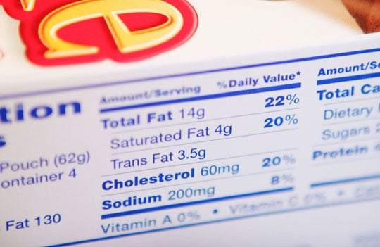 Is Trans Fat Sneaking Into Your Diet?