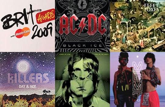 2009 Brit Awards — Best International Album Nominees