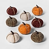 Mini Fabric Pumpkins Halloween Decoration