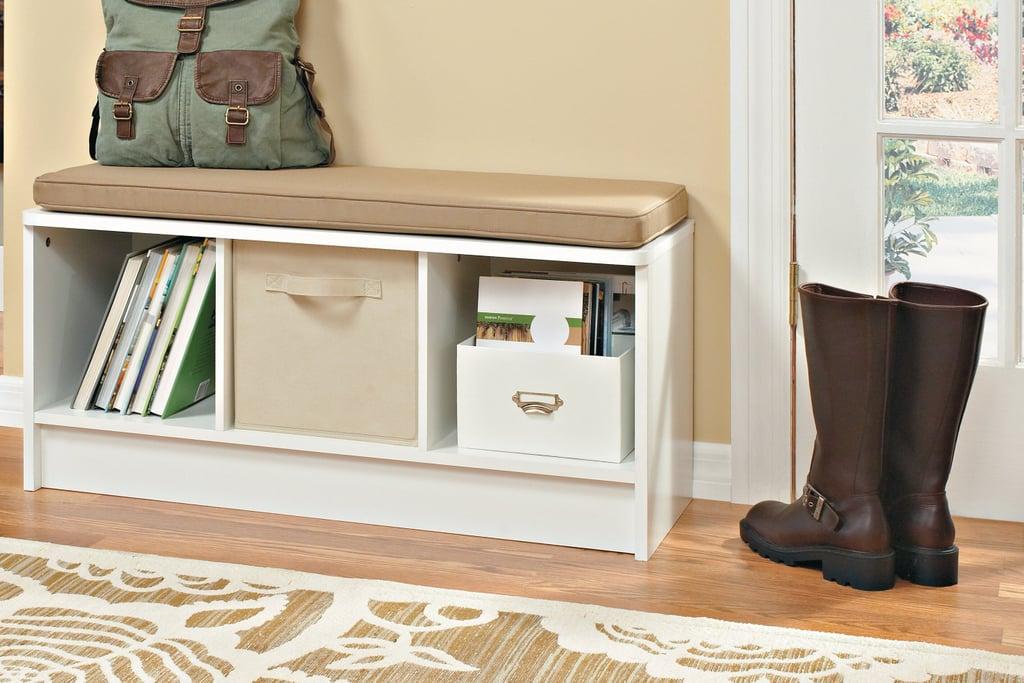 Cubeicals 3 Pair Shoe Storage Bench