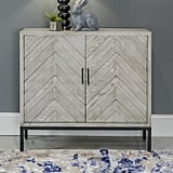 Wooden/Metal Two Door Cabinet